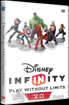 Игра disney infinity 2 0 marvel super heroes 2014 pc