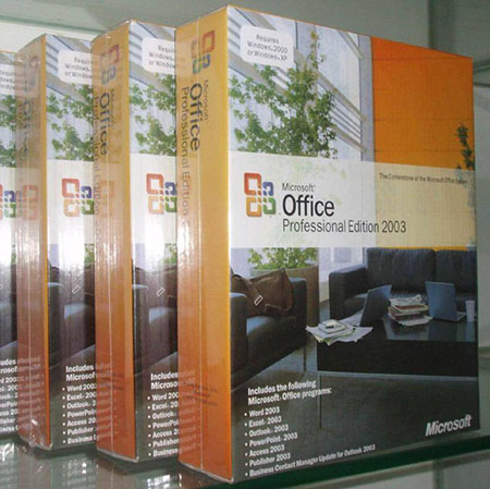 Microsoft Office Professional 2003 SP3