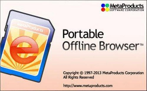 MetaProducts Portable Offline Browser torrent