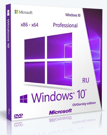 Microsoft® Windows® 10 Professional x86-x64 RU torrent