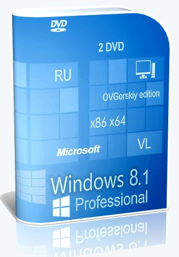 Microsoft Windows 8.1 Professional VL torrent