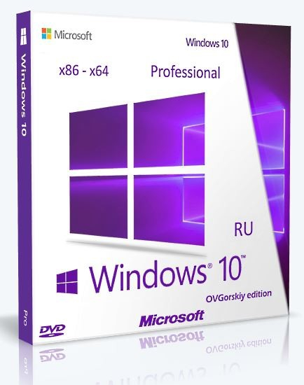 Microsoft Windows 10 Professional x86-x64 1511 RU by OVGorskiy