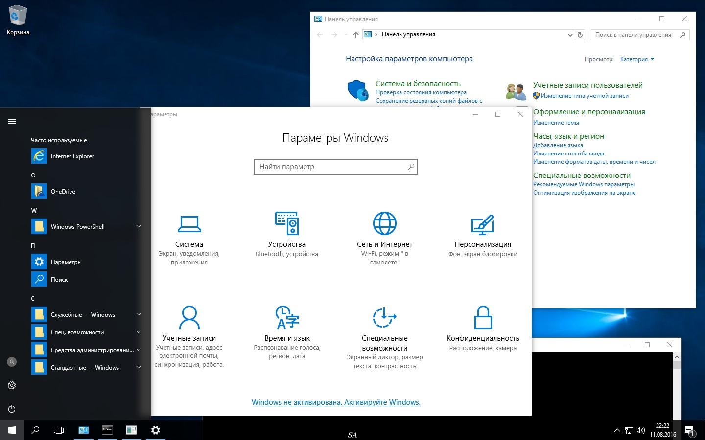 Top Five Windows 10 Enterprise 2016 Ltsb 1607 Iso - Circus