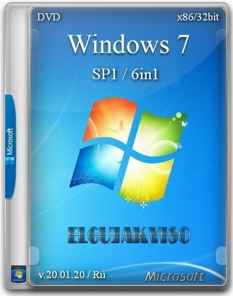 Windows 7 SP1 6in1 (x86)